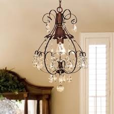 Moroccan Crystal Chandelier Antique Bronze 6 Light Crystal And Iron Chandelier Free Shipping