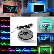 color changing led strip lights with remote 5v 5050 rgb led strip light colour changing usb tv pc back mood