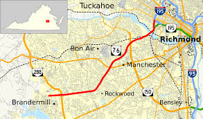Richmond Virginia Map by Virginia State Route 76 Wikipedia