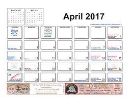 april 2017 events schedule ocean city md area ocean city cool