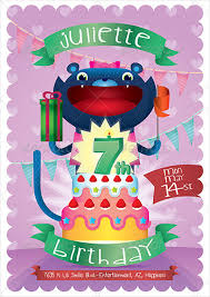 birthday poster template u2013 template design