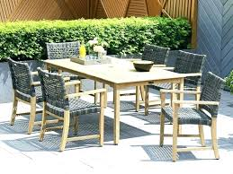 Wicker Patio Dining Table Resin Dining Table Resin And Steel Dining Table Wicker Patio