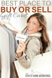 where can i sell gift cards in person best place to buy or sell gift cards