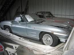 1963 corvette project car for sale corvettes on craigslist a pair of 1963 corvettes corvette