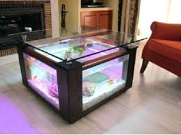 Aquarium Coffee Table How To Build An Aquarium Coffee Table Build Your Own Aquarium