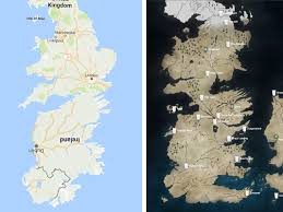 Map Westeros How Did We Never Realize That Westeros Is Just A Map Of Great