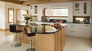 excellent oak shaker kitchen island fresh kitchen design