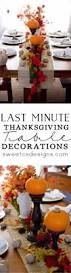 last minute thanksgiving 33 best thanksgiving centerpieces and decor for your table page