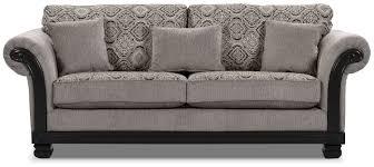 hazel chenille sofa grey the brick