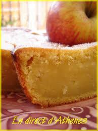 recette de cuisine sans oeuf gourmandise dans la série sans oeufs le cake aux pommes en