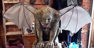 diy anamatronic halloween gargoyle prop 2014 prototype youtube