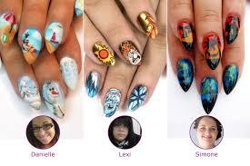 nails next top nail artist challenges results next top nail