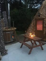 tipi lodge with wood fired tub pictures here pinewood park
