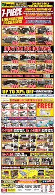 surplus furniture kitchener surplus furniture mattress warehouse kitchener flyer march 7 to 20