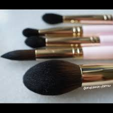 new juvia u0027s place pink and turquoise brush sets review and