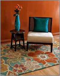 Brown And Orange Area Rug Rust Orange Area Rug Rugs Home Decorating Ideas Hash
