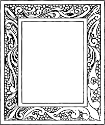 photo frame picture frames clipart clipground