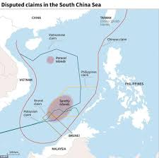 South China Sea Map by Photos Show Scale Of Construction In Disputed Area Of South China
