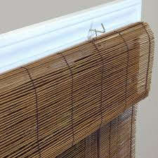 Bamboo Blinds For Outdoors by Amazon Com Radiance 0108116 Fruitwood Imperial Matchstick Bamboo