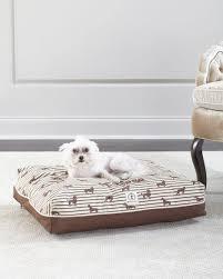 Barker Dog Bed Harry Barker Small Ticking Envelope Dog Bed
