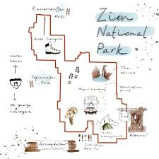 Map Of Zion National Park Insider U0027s Guide To Zion National Park Huckberry