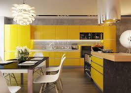 Yellow And Grey Kitchen Ideas by Blue And Yellow Kitchen Ideas