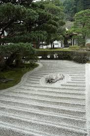 Rock Garden Zen Japanese Rock Garden Zen Garden Stock Image Image Of Sand