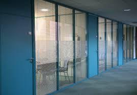 porte de bureau vitr cloison vitre bois amazing crer une cloison et une porte gomtrique
