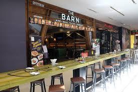 The Barn Cafe El Gusto De Espana The Barn Pavilion Kl I Come I See I