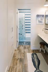Ombre Bath Rug Ombre Blue White Bathroom Mat Runner