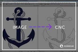 how to convert an image for cnc scan2cad