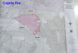 New Mexico Road Closures Map by Cajete Fire Update Nm Fire Info