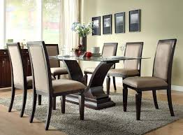dining table glass top dining table sets set chairs tables wood