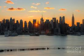 New York Wallpapers New York Hd Images America City View by New York City Skyline At Sunrise I Photograph By Clarence Holmes