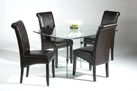 Leather Dining Chair With Chrome Legs Brown Leather Dining Chair U2013 Adocumparone Com
