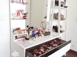 Organizing Makeup Vanity Vanity Table Organization Ideas Home Decor Ryanmathates Us