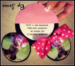 minnie mouse birthday invitations diy alanarasbach com