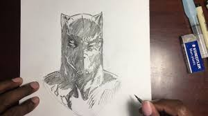 marvel black panther sketch youtube