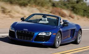 Audi R8 Blue - 2011 audi r8 spyder 5 2 fsi quattro expert review and driving