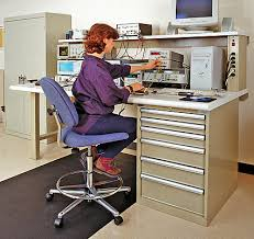 Work Benches With Storage Infineon Technologies Combines Storage With Lista Esd Electronics