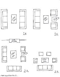 a list of small medium and large living room size dimensions with