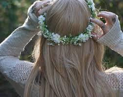 baby s breath flower baby s breath flower crown bridal flower crown flower