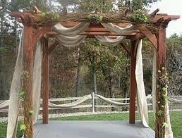 Outdoor Wedding Gazebo Decorating Ideas Marvellous Decorating A Pergola For A Wedding 1000 Ideas About