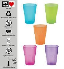 bicchieri di plastica sono riciclabili idea station bicchieri di plastica riutilizzabili 350 ml 30 pezzi