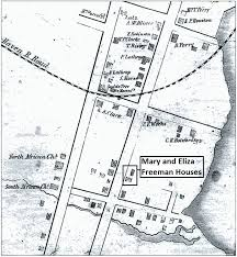 Map Of Seaside Oregon by Mary And Eliza Freeman Houses Wikipedia