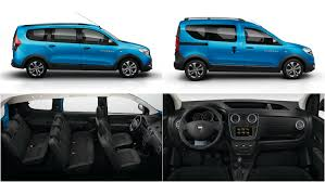 renault dokker 2017 dacia lodgy stepway and dokker stepway pricing announced