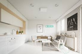 20 sqm modern efficiency apartment interior design with folding