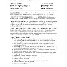 sle resume format for accounting assistant job summary inventory clerk job resume control objective cover letter sle