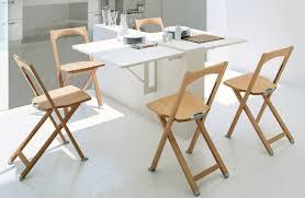 table de cuisine pliante la table de cuisine pliante 50 idées pour sauver d espace
