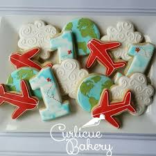 The Decorated Cookie Company Best 25 Airplane Cookies Ideas On Pinterest Airplane Party